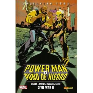 100% Marvel HC. Power Man y Puño de Hierro nº 02
