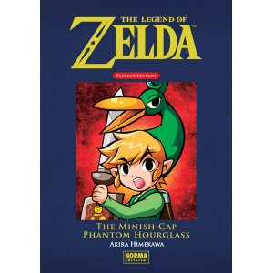 The Legend of Zelda Perfect Edition nº 03: The Minish Cap y Phantom Hourglass