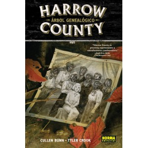 Harrow County nº 04. Árbol genealógico