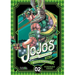 JoJo's Bizarre Adventure Parte 02: Battle Tendency nº 02