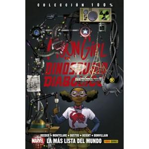 100% Marvel HC. Moongirl y Dinosaurio Diabólico nº 03
