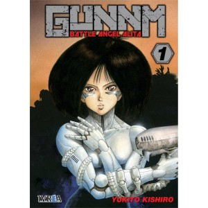 GUNNM: Battle Angel Alita nº 01