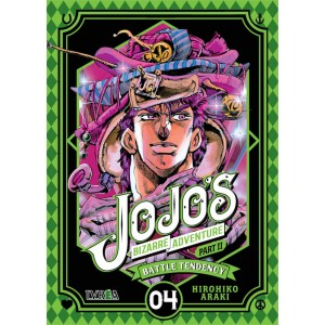 JoJo's Bizarre Adventure Parte 02: Battle Tendency nº 04
