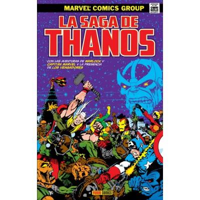 Marvel Gold. La saga de Thanos