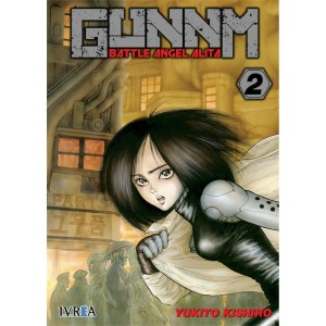 GUNNM: Battle Angel Alita nº 02