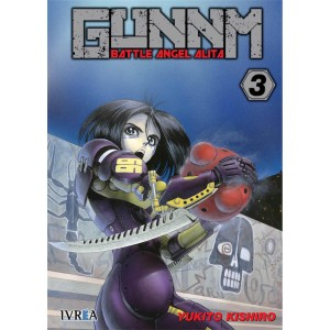 GUNNM: Battle Angel Alita nº 03