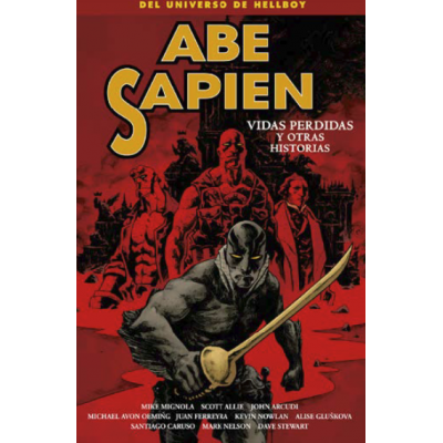 Abe Sapien nº 09. Vidas perdidas y otras historias