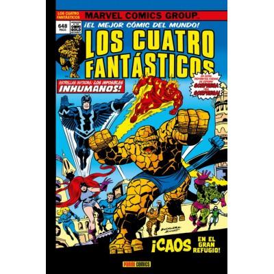 Marvel Gold. Los Cuatro Fantásticos nº 08