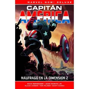 Marvel Now! Deluxe. Capitán América de Rick Remender nº 01