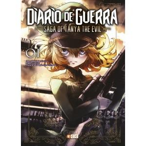 Diario de guerra - Saga of Tanya the Evil nº 01
