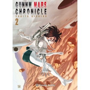 GUNNM Mars Chronicle nº 02