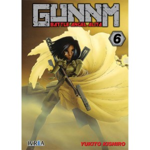 GUNNM: Battle Angel Alita nº 06