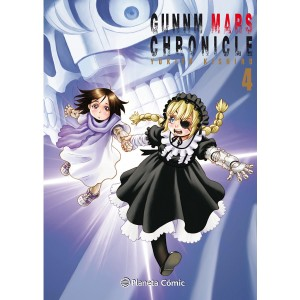 GUNNM Mars Chronicle nº 04