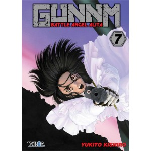 GUNNM: Battle Angel Alita nº 07