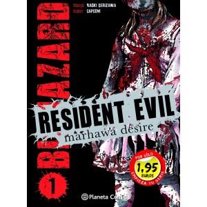 Resident Evil Marhawa Desire nº 01 (Promoción)