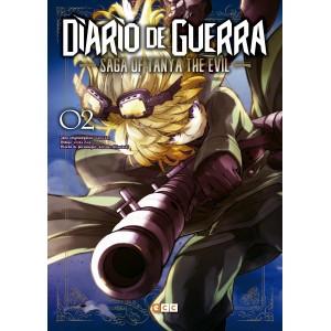 Diario de guerra - Saga of Tanya the Evil nº 02