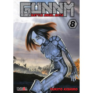 GUNNM: Battle Angel Alita nº 08