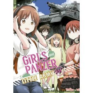 Girls und Panzer Little Army nº 01