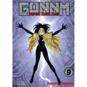GUNNM: Battle Angel Alita nº 09