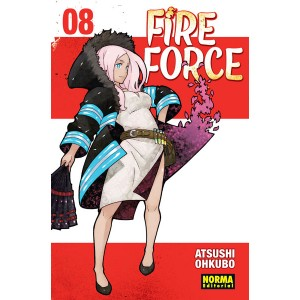 Fire Force nº 08