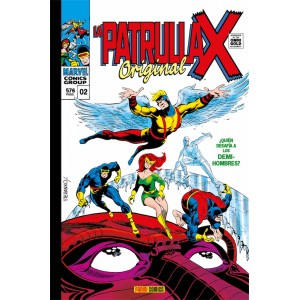 Marvel Gold. La Patrulla-X original nº 02