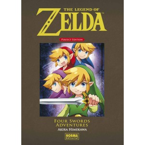 The Legend of Zelda Perfect Edition nº 05: Four Swords Adventures