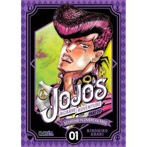 JoJo's Bizarre Adventure Parte 04: Diamond is Unbreakable nº 01