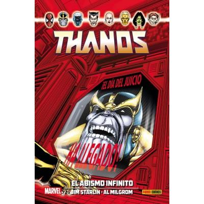 100% Marvel HC. Thanos: El abismo infinito