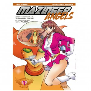 Mazinger Angels nº 01