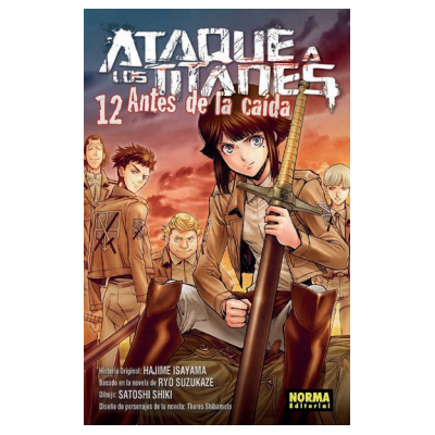 Ataque a los Titanes: Antes de la Caída nº 12