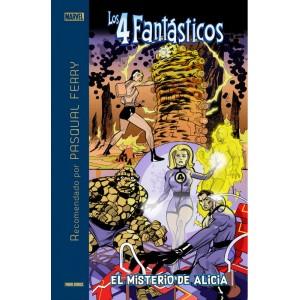 Marvel Recomendado por Pasqual Ferry: Los 4 Fantásticos: El misterio de Alicia