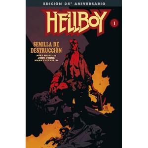 Hellboy: Semilla de destrucción (Edición gigante especial 25º aniversario)