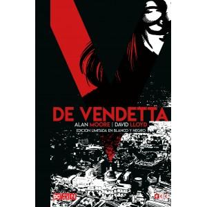 V de Vendetta (Edición limitada en blanco y negro)