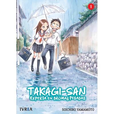 Takagi-san, experta en bromas pesadas nº 01