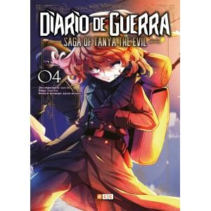 Diario de guerra - Saga of Tanya the Evil nº 04