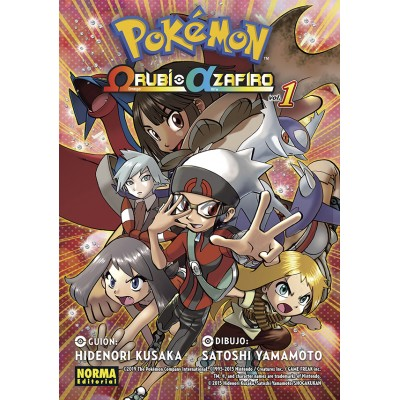 Pokemon Omega Rubí Alfa Zafiro nº 01