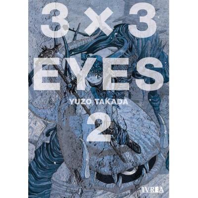 3x3 Eyes nº 02
