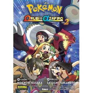 Pokemon Omega Rubí Alfa Zafiro nº 02