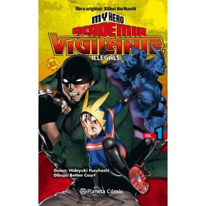 My Hero Academia: Vigilante Ilegals nº 01