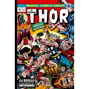 Marvel Gold. El poderoso Thor nº 06 ¡La Batalla a las Puertas del Infierno!