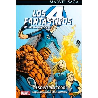 Marvel Saga nº 92. Los 4 Fantásticos de Jonathan Hickman nº 02