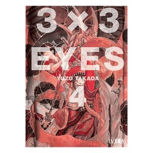 3x3 Eyes nº 04