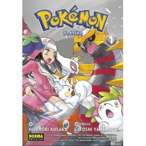 Pokemon nº 22. Platino 01