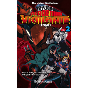 My Hero Academia: Vigilante Ilegals nº 02