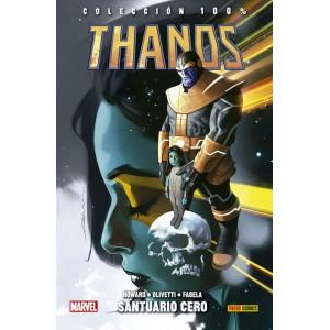 100% Marvel HC. Thanos 4: Santuario Cero