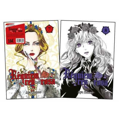 Pack Requiem por el Rey de la Rosa nº 07 y 08