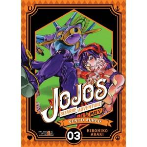 JoJo's Bizarre Adventure Parte 05: Vento Aureo nº 03