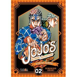 JoJo's Bizarre Adventure Parte 05: Vento Aureo nº 02