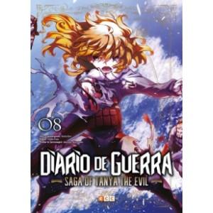 Diario de guerra - Saga of Tanya the Evil nº 08