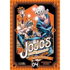 JoJo's Bizarre Adventure Parte 05: Vento Aureo nº 04